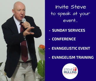 Invite Steve Mullins to speak